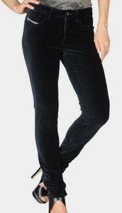 Diesel Velvet Black Pants Jeans